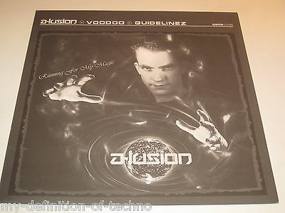 """A-Lusion, Voodoo / Guidelinez (Scantraxx 036) 12"""" Hardstyle Onne Witjes"""