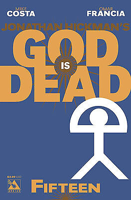 God is Dead #15 (NM)`14 Costa/ Francia  (Cover A)