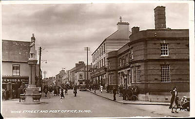 Sligo. Wine Street & Post Office # R.669 by Valentine's.