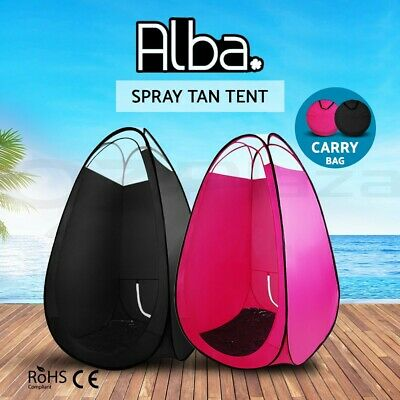 Portable Pop Up Spray Tan Tent SunlessTanning Booth Washable Carry Bag
