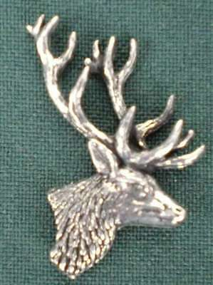 HIRSCH ANSTECKNADEL PIN A21 STAG S HEAD