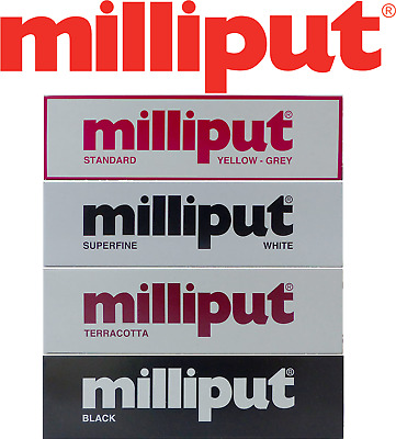 Milliput Standard Teracotta Black Superfine White Adhesive 2 Part Filler Mould