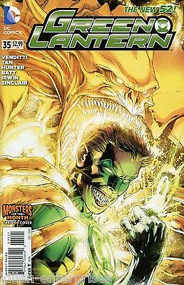 Green Lantern #35 Monsters Variant Edition Comic Book 2014 New 52 - DC