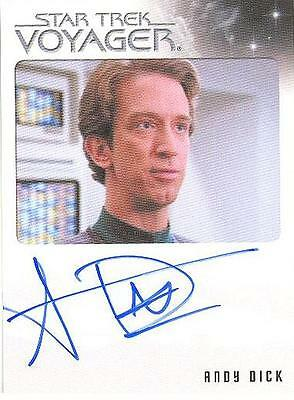 Quotable Star Trek Voyager Andy Dick EMH Mark II LIMITED Autograph! MINT! RARE!