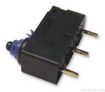 MICROSWITCH, SEALED, PLUNGER, SPST, Part # D2HW-BR203ML