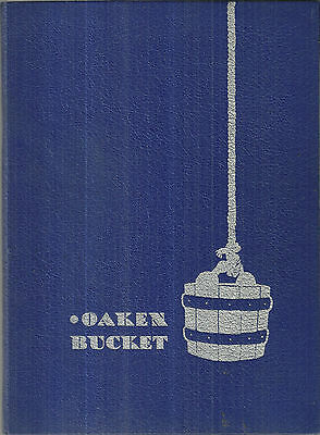 January 1939 Oakland High School Yearbook California