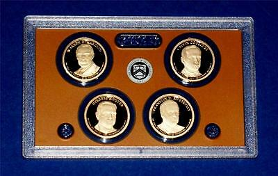 2014 S Presidential Dollar Proof Set-Four Coins-No Box/COA