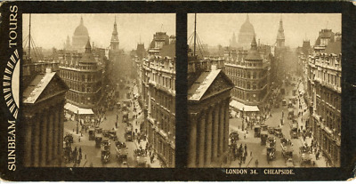 STEREO Angleterre, Londres Cheapside STEREO Angleterre, Londres Cheapside Tira