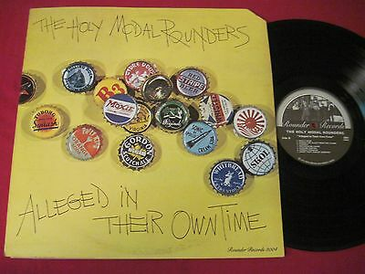 Lp- The Holy Modal Rounders - Alleged In Their Own Time (1975) Rounder 3004 Vg++