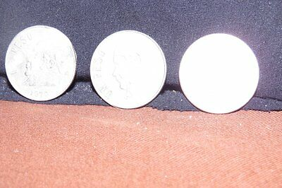 LOT OF 3 MEXICAN ONE PESO COINS-EXCELLENT