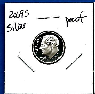 2009 S 90% SILVER PROOF Roosevelt Dime -  Deep Cameo