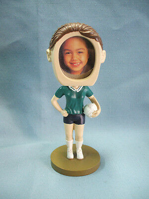 female VOLLEYBALL resin statue bobblehead trophy photo