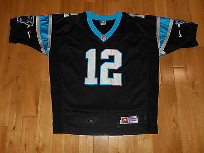 273f2411d Vintage 1990s Nike KERRY COLLINS CAROLINA PANTHERS Authentic NFL Team JERSEY  52