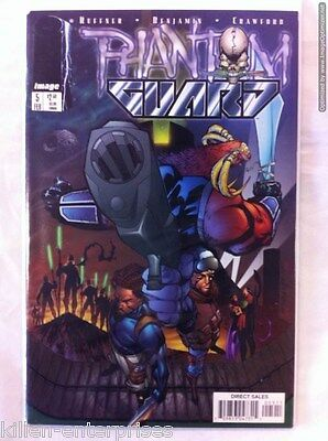 Phantom Guard #5 Comic Book Image 1998