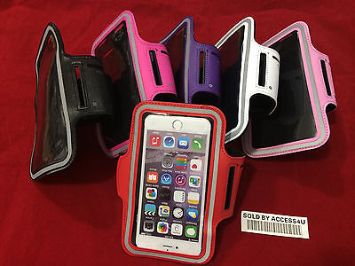 EXERCISE RUNNING SPORT ARMBAND COVER POUCH CASE FOR IPHONE 6S PLUS 7 plus 8 plus