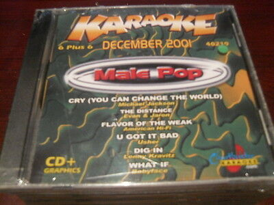 Chartbuster 6+6 Karaoke Disc 40219 December 2001 Male Pop Cd+G Multiplex