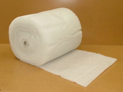 5m 4oz Polyester Wadding Roll for Quilting and Upholstery Craft Padding fibre