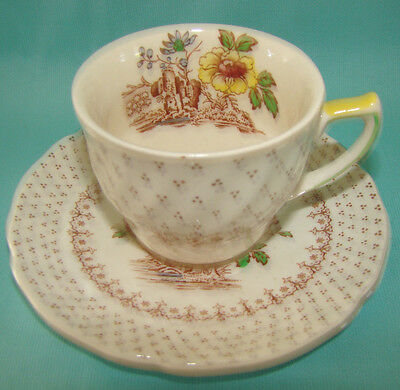 ANTIQUE ROYAL DOULTON DEMITASSE CHOCOLATE SET CUP AND SAUCER ENGLISH CHINA