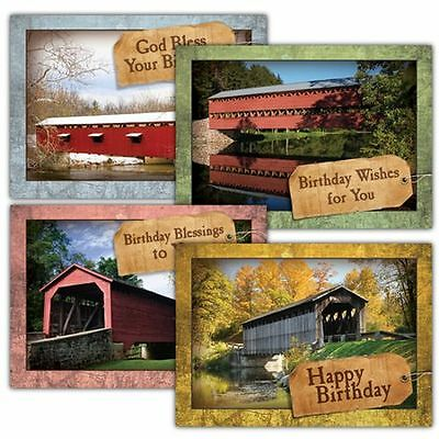 Covered by His Love, Box of 12 Assorted Birthday Cards