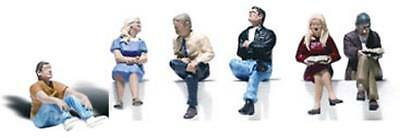 NEW Woodland Scenics People Sitting O A2759