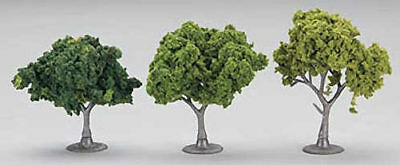 NEW Woodland Scenics Mixed Green Deciduous Trees 2-3  (23) TR1571