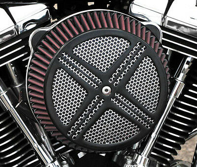 LA Choppers XXX Air Cleaner Black For Yamaha V-Star 650 98-11