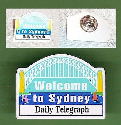 Welcome To Sydney  Badge / Pin