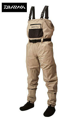 Daiwa Lightweight Breathable Chest Wader All Sizes Available Med - Xxl
