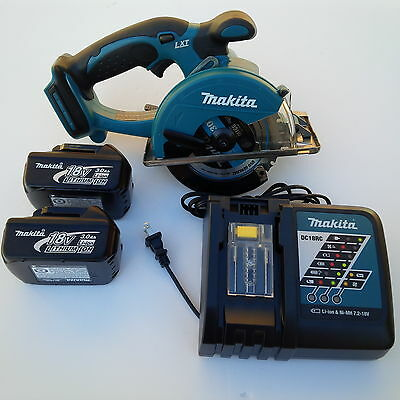 New Makita 18V Cordless XSC01 Metal Saw,2 BL1830 Battery,DC18RC Charger 18 Volt