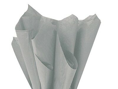 SILVER / GREY Tissue Wrapping Paper - 18GSM Sheets  - 35 x 45cm