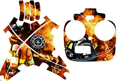 DJI Phantom FC40 1 2 Vision plus Vision+ Graphic Wrap Decal Skins Fire Fighter 1
