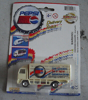 Golden Wheel Pepsi Generation Diecast Delivery  Truck NIP