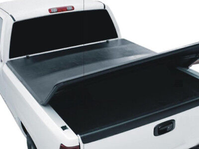 Isuzu D-Max 2012-Onwards Tri-Fold Tonneau Cover Soft Bed Accessories In Black