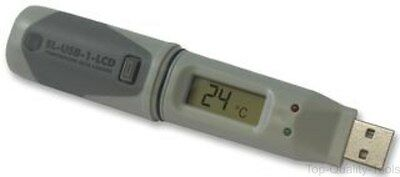 Data Logger, Usb, Temp, With Lcd, El Usb 1 Lcd 2285217