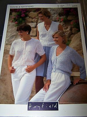 HAYFIELD - 3 Sleeve Versions Summer Cotton - Actual Size 86 to 117cm chest