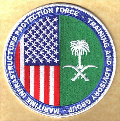 MIPF-TAG Maritime Infrastructure Protection Force W5453 USCG Coast Guard patch