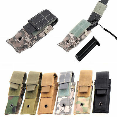 Single Army MOLLE Pistol Cartridge Clip Mag Magazine Pouch Holster