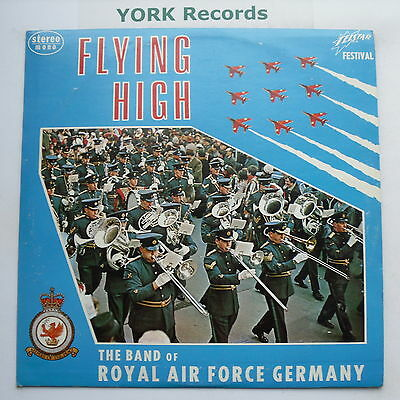 BAND OF THE ROYAL AIR FORCE GERMANY - Flying High - Ex LP Record Telstar TF 8043