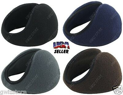 New Mens • Women's Behind The Head Ear Muffs Or Wraps In Assorted Colors