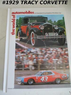Volume 14 The World of Automobiles Oldsmobile Toronado Panther J72 Opel Penske