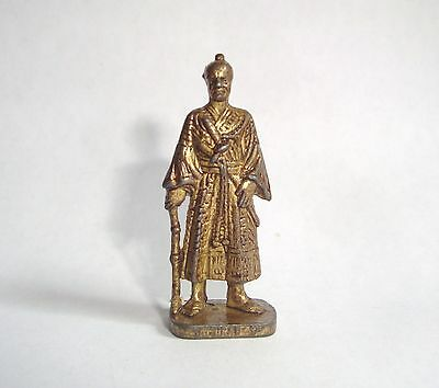 Kinder ancien en métal Metallfiguren Samurai um 1600 RP 1482 Patent n° 1 messing