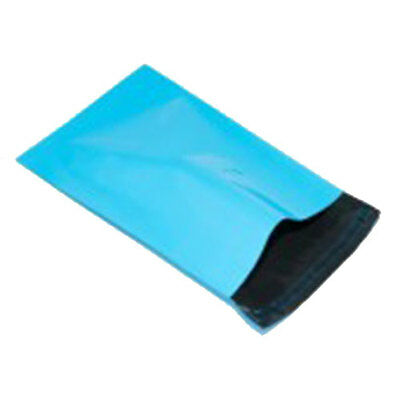 """1000 Turquoise 10"""" x 14"""" Mailing Postage Postal Mail Bags"""