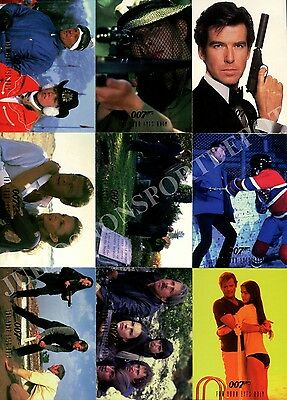 James Bond Connoisseurs Collection Series 3 1996 Base Card Set Of 90 Movie