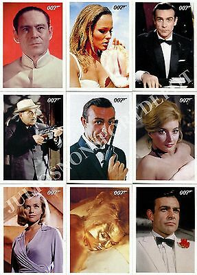 James Bond Archives 2009 Rittenhouse Complete Base Card Set Of 66 Movie