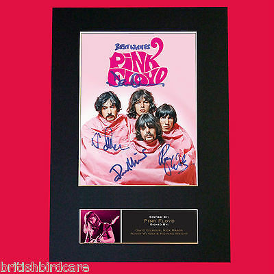 PINK FLOYD No2 Quality Autograph Mounted Signed Photo Repro A4 Print 555