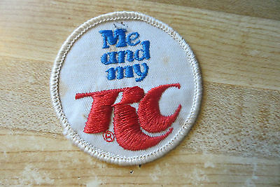 Original soda pop advertising Me and my RC old collectible display used patch
