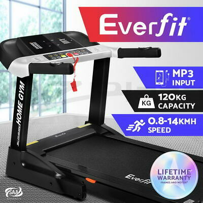 Everfit Electric Treadmill Home Gym Exercise Machine Fitness Physical Equipment