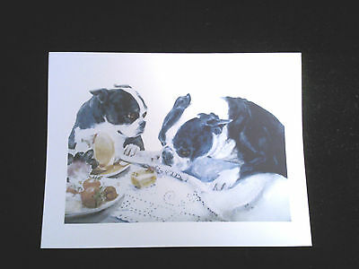 Boxed Note Cards (MB242) - Boston Terriers