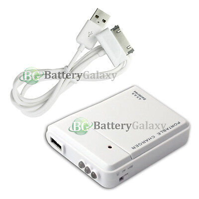 Portable Backup Charger+USB Data Cable for Samsung Galaxy Note 2 Tab Tablet 10.1