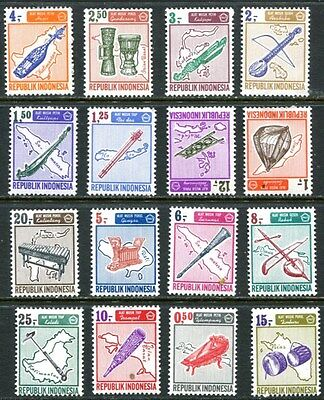 Indonesia 1967 Musical Instruments - Music Mint Complet